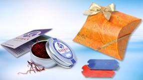 Safran Geschenkschachtel
